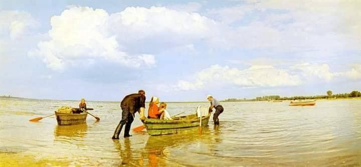 23. На озері Світязь на Волині, фото 1976 року